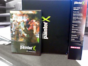 Full Retail Copy of Painter X with Training DVD