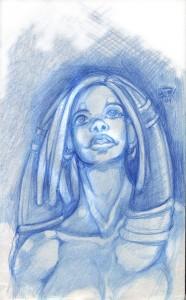 Showkaizer's Amaryllis - Portrait